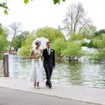 Married-Couple-by-river-Venue-Weddings-Henley